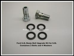 Ford 6.4L Banjo Bolt Upgrade Kit