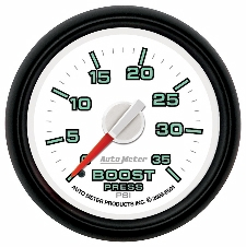 0-35 PSI Boost Gauge Dodge Factory Match