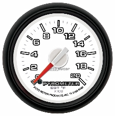 0-2000 Degree Pyrometer Dodge Factory Match 8545