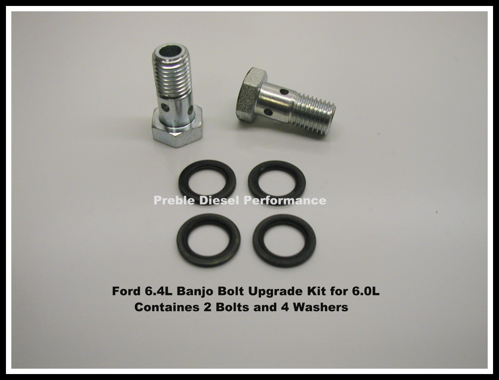 03 07 Ford 60l Necessary Upgrades 2011 F250 Fuel Filter Housing 64l Banjo Bolt Upgrade Kit