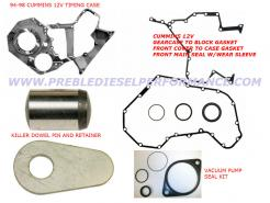 12v timing case gaskets kdp