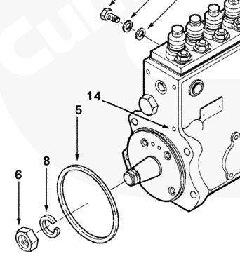 P7100 Pump O Ring